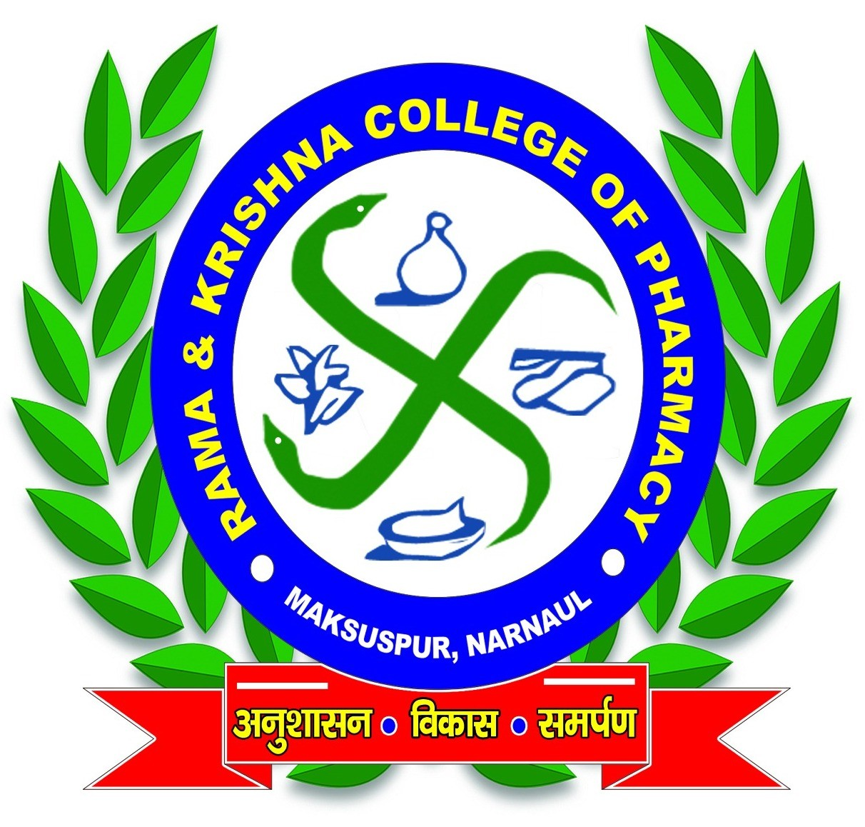 Logo Rama and Krishna Pharmacy College